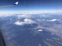 上空から富士山180213