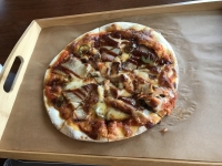 BBQピザ180217