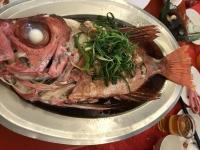 蒸し魚180218