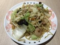 王将海鮮炒麺180223