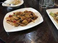 鶏肉炒め180227