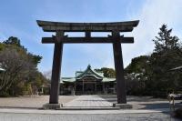 豊国神社参拝180209
