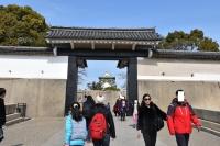 さて大阪城本丸へ180209