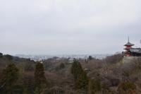 清水寺から京都市内180210