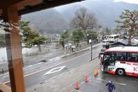 嵐山で昼食180210