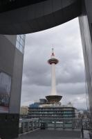 駅ビルから京都タワー180211