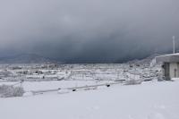 雪は止みましたが180212