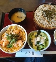 以志橋初日ランチ鎌倉丼