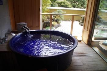 ホテルおかだ部屋風呂