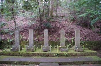 後北条家歴代のお墓