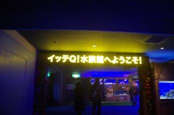 八景島パラダイスイッテQ水族館