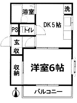 ■物件番号5306 1DKマンション入荷!格安4.4万円!最上階3階カド!日当り良好!駅15分!