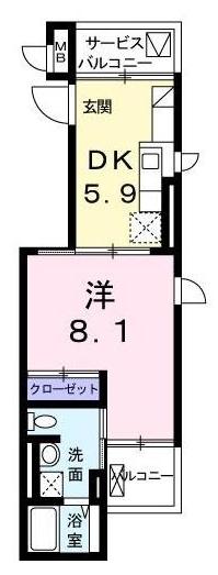 ■物件番号5122 辻堂海側!オートロック付マンション!1DKタイプ!31平米!3階カド!7.35万円!買い物便利!