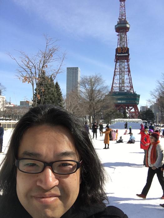 札幌に着いて