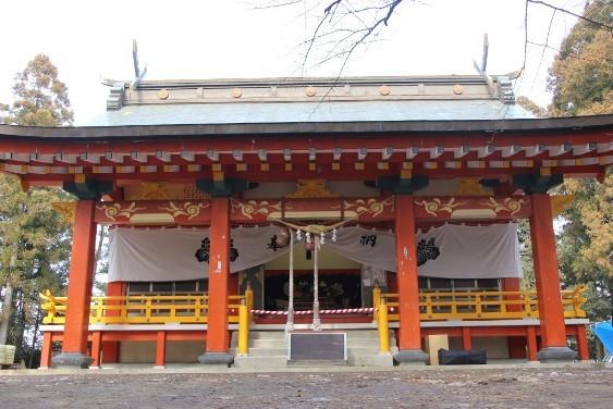 羽黒神社拝殿