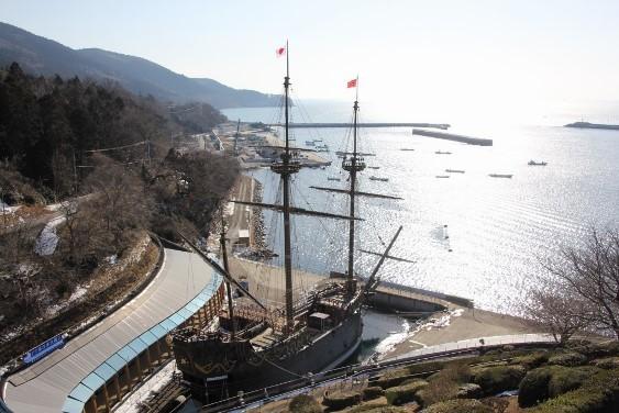 復元船サン・ファン・バウティスタ