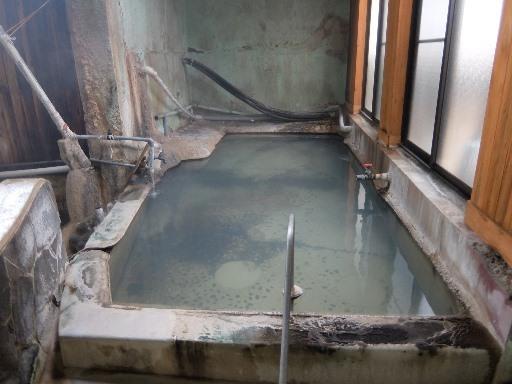 上の段のプール風呂
