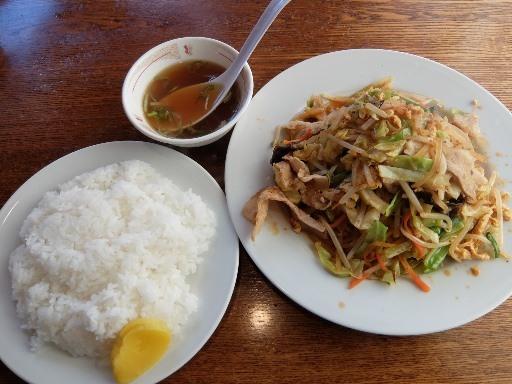 野菜ラージャン定食