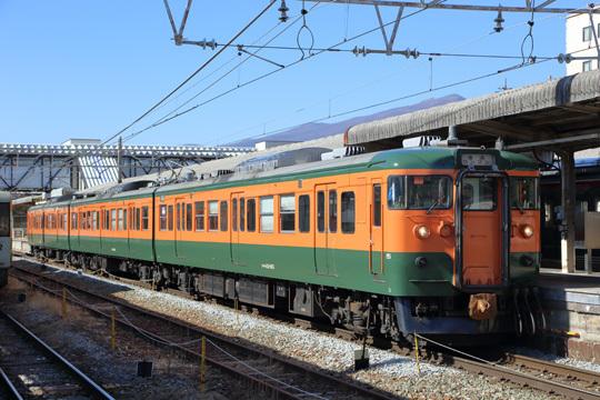 湘南色115系@しなの鉄道