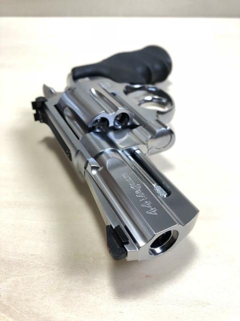 [タナカ]S&W M629PC フラットサイド 3インチ ステンレスフィニッシュ Ver.2