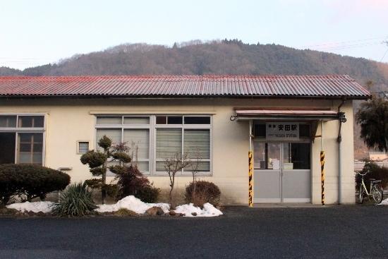 ⑥備後安田駅舎