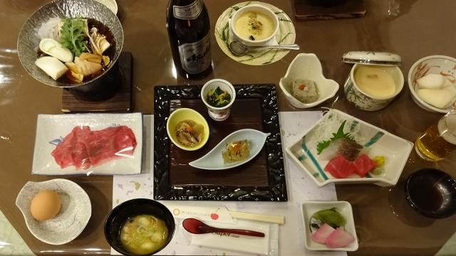 26二日目の夕食すき焼き
