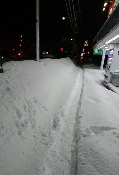 雪道 201803