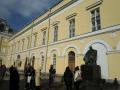 モスクワの中心部にあるマールイ劇場(201203)