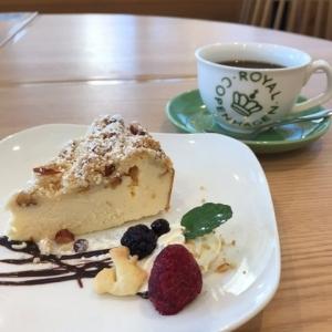 201712 komae クランブルチーズケーキ