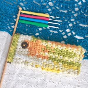 写真 リフ編みこいのぼり 正方形