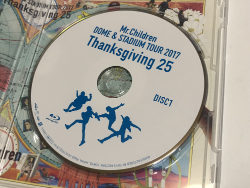特典だけでも買う価値あり!MrChildren DOME STADIUM TOUR 2017 Thanksgiving 25-09