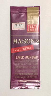 MASONS_FLAVORSTRIP_TASTY_CHERRY メイソンズ・フレイバーストリップ・テイスティチェリー FYO フレーバーシート 手巻きタバコ RYO