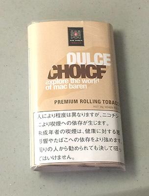CHOICE_DULCE チョイス・ドルチェ・キャラメルバニラ CHOICE チョイス フレーバーシャグ キャラメルフレーバー 手巻きタバコ RYO