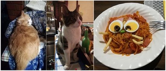 猫&ニャポリタン