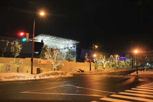 弘前城冬のライトアップ2018-2