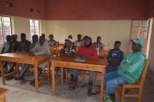 写真4:窯業グループのミーティングの様子
