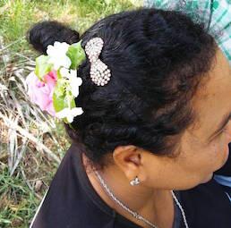 ラウとお花