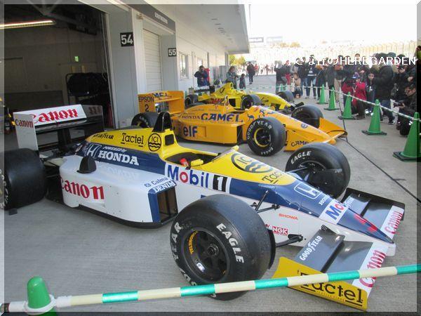 600 鈴鹿サーキット F1マシーン
