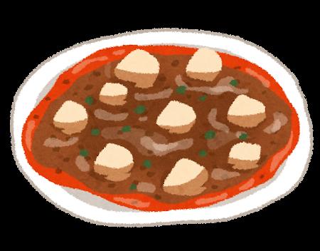 フード、麻婆豆腐