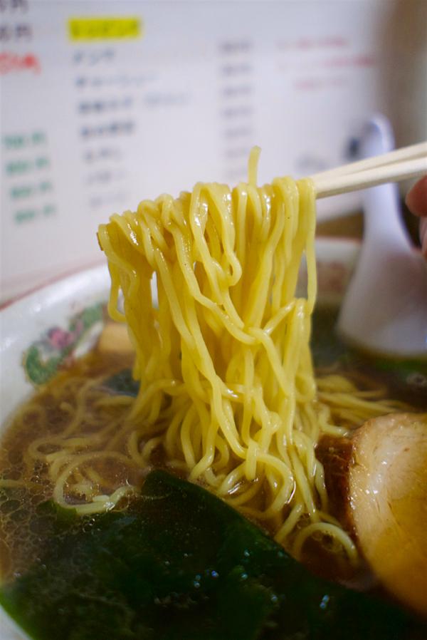 丸久ラーメン@上三川町西汗 麺