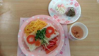 仙台市立西山小学校 ちらし寿司