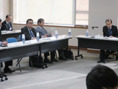 「正副委員長会議&小中学校統廃合会議」②