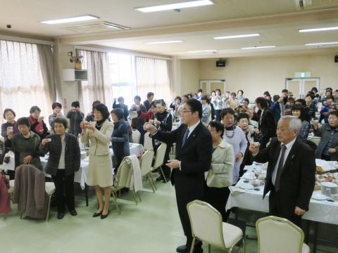 「平成30年石岡市地域女性団体連絡協議会新年会」④