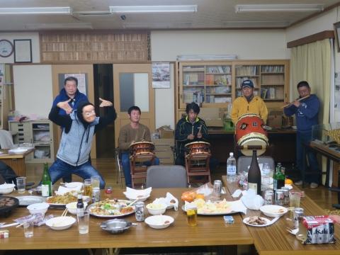 「新年会3連荘!」②