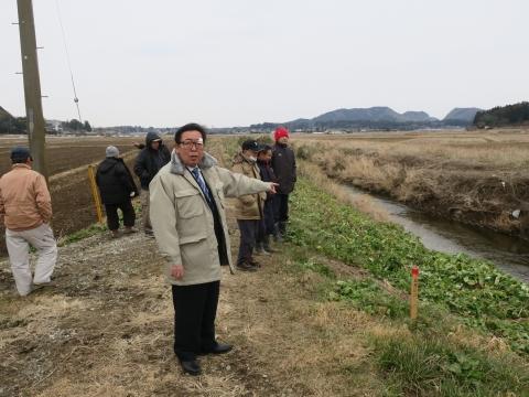 「片野地区川俣川掘削堤防問題」 (3)