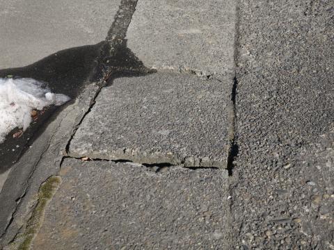 「北の谷・国分町地区歩道改修」⑨