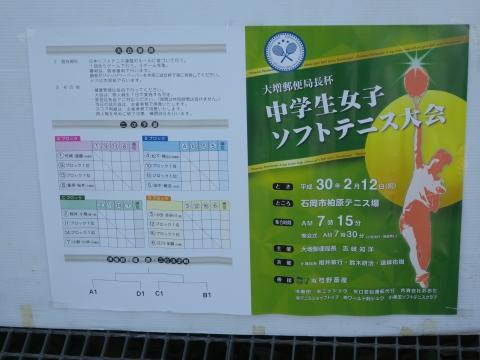 「大増郵便局長杯ソフトテニス大会」⑤