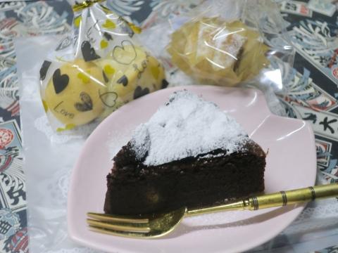 「バレンタインディーチョコ&ケーキ」④