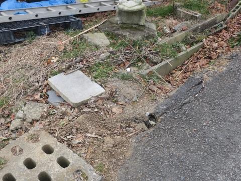 「風返峠十三塚排水路整備工事」⑥