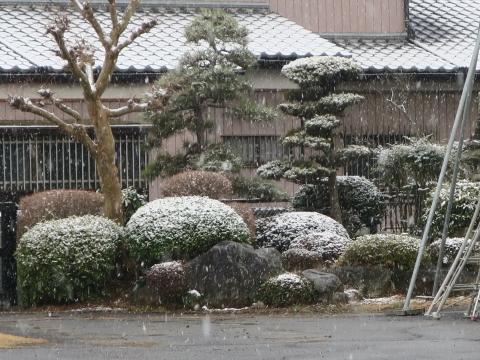 「平成30年2月22日石岡市は雪だった!」③